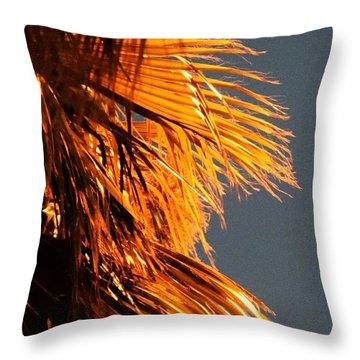 Hot Air Frizzies Throw Pillow
