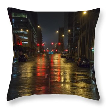 Hot Austin Throw Pillow