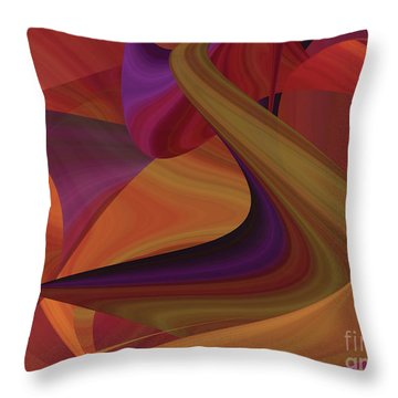 Hot Curvelicious Throw Pillow