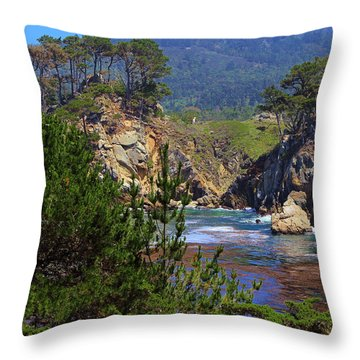 Hot Day In Monterey Throw Pillow