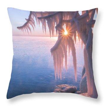 Hot Ice Throw Pillow