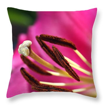 Hot Is Lily Throw Pillow