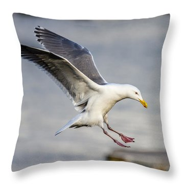 Hot Landing Throw Pillow