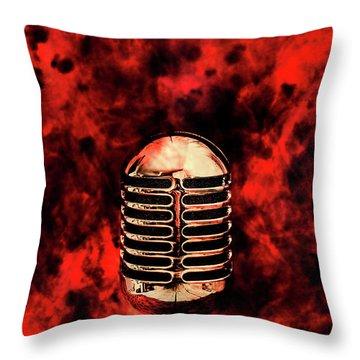 Hot Live Show Throw Pillow