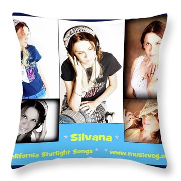 Hot Off The Presses Throw Pillow by Silvana Vienne