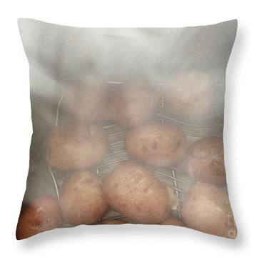 Hot Potato Throw Pillow