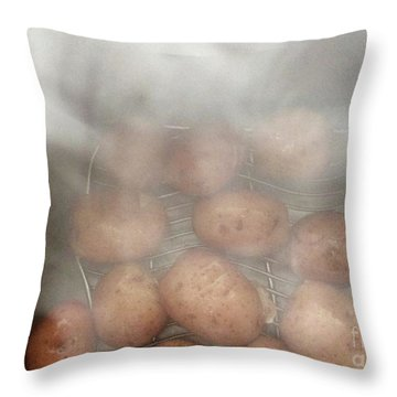 Throw Pillow featuring the photograph Hot Potato by Kim Nelson