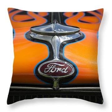 Ford 5 Throw Pillow