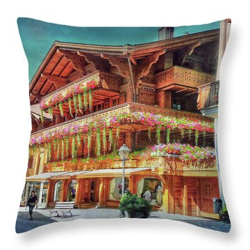 Throw Pillow featuring the photograph Hot Spot by Hanny Heim