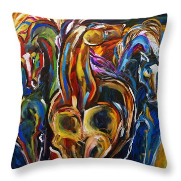 Hot Summer Night Throw Pillow