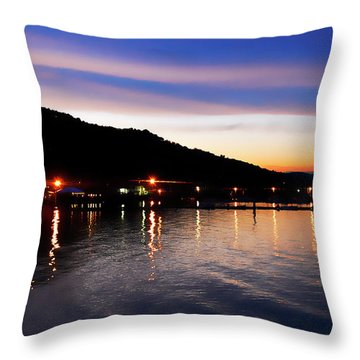 Hot Summers Night Throw Pillow
