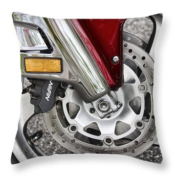 Hot Wheel Throw Pillow