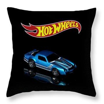 Hot Wheels 67 Pontiac Firebird 400-3 Throw Pillow