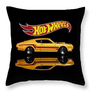Hot Wheels '69 Mercury Cyclone Throw Pillow