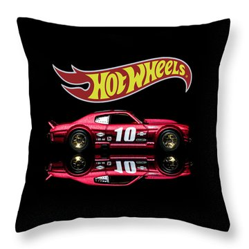 Throw Pillow featuring the photograph Hot Wheels '70 Chevy Chevelle-1 by James Sage
