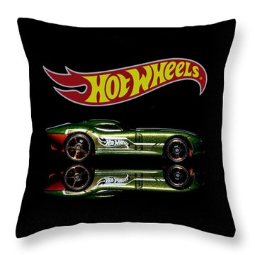 Throw Pillow featuring the photograph Hot Wheels Fast Felion by James Sage