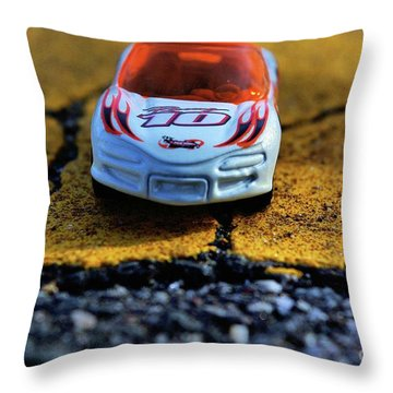 Hot Wheels For The Kid In All Of Us Throw Pillow