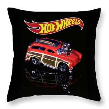 Throw Pillow featuring the photograph Hot Wheels Surf 'n' Turf by James Sage