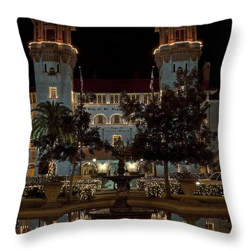 Hotel Alcazar Throw Pillow by Kenneth Albin