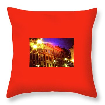 Hotel Anno Throw Pillow