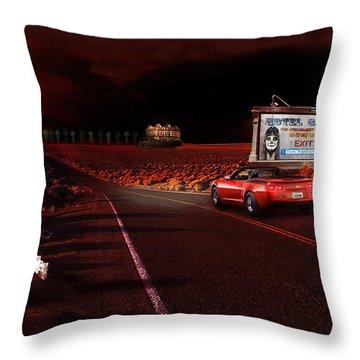 Hotel California Throw Pillow