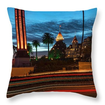 Throw Pillow featuring the photograph It's Still Standing by Dan McGeorge