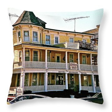 Hotel Polonaise Throw Pillow
