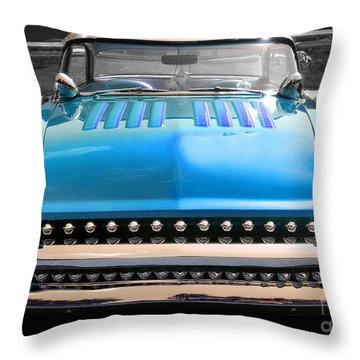 Throw Pillow featuring the photograph Hotrod  by Raymond Earley