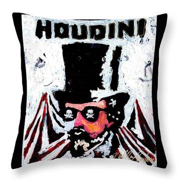 Houdini Throw Pillow