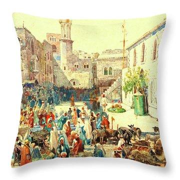 Houghton Bethlehem 1926 Throw Pillow