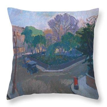Houghton Place Throw Pillow