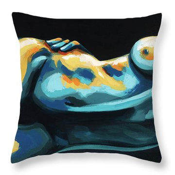 Hour Glass Throw Pillow