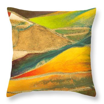 Hourglass Throw Pillow