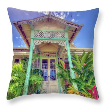 House # 90 Throw Pillow