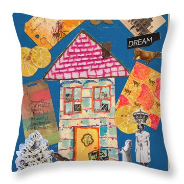 House #1 Throw Pillow