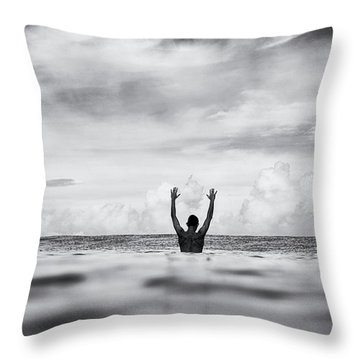 Throw Pillow featuring the photograph House Arrest by Nik West