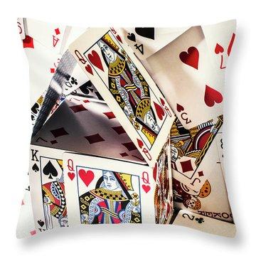 House Edge Throw Pillow
