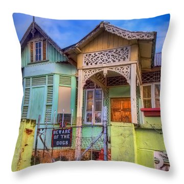 House Of Colors Throw Pillow