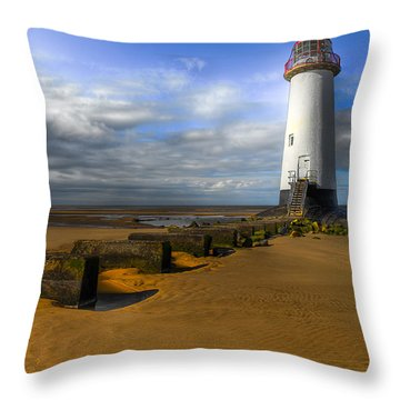 House Of Light Throw Pillow by Adrian Evans