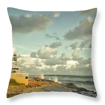 House Of Refuge Throw Pillow
