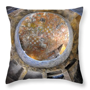 House Of The Hopi Throw Pillow by David Lee Thompson