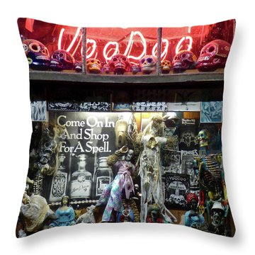 House Of Voodoo Throw Pillow