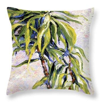 House Plant Throw Pillow