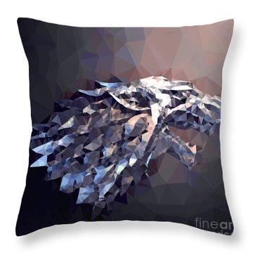 House Stark Throw Pillow