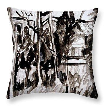 House Study  Throw Pillow