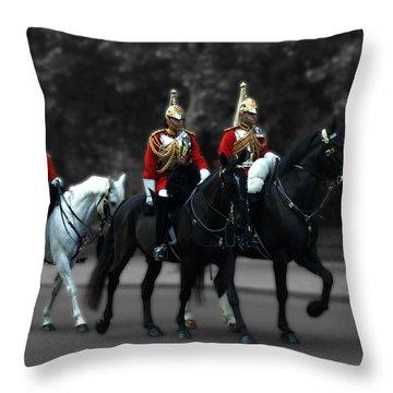 Household Cavalry Throw Pillow