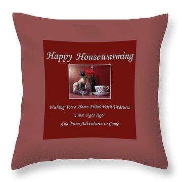 Housewarming  Throw Pillow