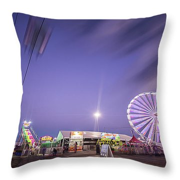 Houston Texas Live Stock Show And Rodeo #13 Throw Pillow by Micah Goff