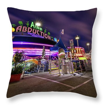 Houston Texas Live Stock Show And Rodeo #2 Throw Pillow by Micah Goff