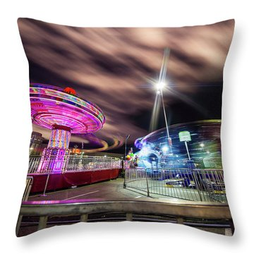 Houston Texas Live Stock Show And Rodeo #9 Throw Pillow